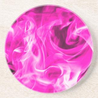 St Germainからのすみれ色の炎そしてすみれ色の火のギフト コースター