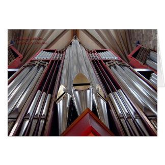 St Gilesのカテドラル器官 カード