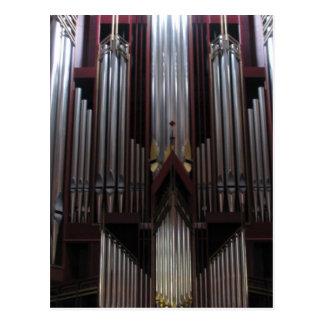 St Gilesのカテドラル、スコットランドの管器官 ポストカード