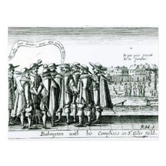 St Gilesの彼のComplicesのBabington ポストカード