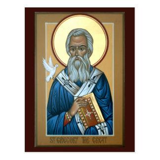 St Gregory素晴らしい祈りの言葉カード ポストカード