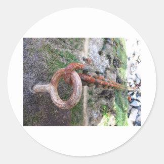 St Ivesのボートの鎖 ラウンドシール