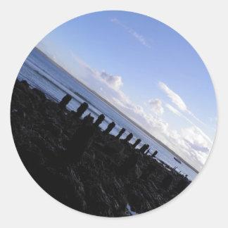 St Ivesの海岸 ラウンドシール