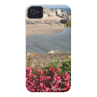 St Ives港のピンクの花 Case-Mate iPhone 4 ケース