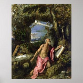 St Jerome ポスター