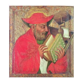 St Jerome 2 キャンバスプリント