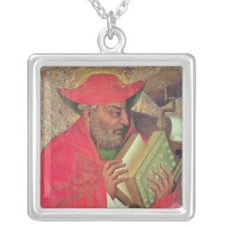 St Jerome 2 シルバープレートネックレス