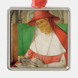 St Jerome c.1475のポートレート メタルオーナメント