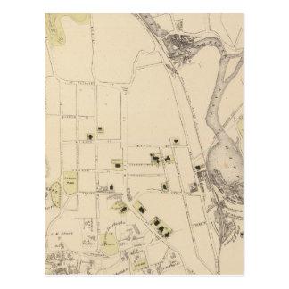 St JohnsburyのSt Johnsburyの町 ポストカード
