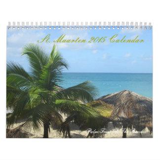 St. Maartenのカスタムによって印刷されるカレンダー カレンダー