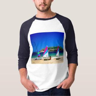 St Maloの3隻の航行ボート Tシャツ