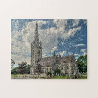 St Margaretの教会BodelwyddanWalesのジグソーパズル ジグソーパズル