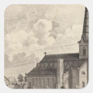 St Maryのカトリック教会 スクエアシール