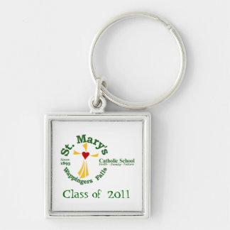 St Maryのカトリック系の学校Keychain 3 キーホルダー
