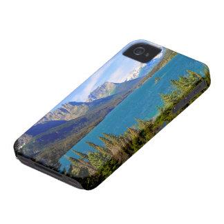 st. Mary湖、グレーシャー国立公園、モンタナ Case-Mate iPhone 4 ケース