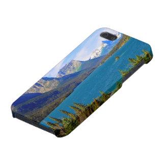 st. Mary湖、グレーシャー国立公園、モンタナ iPhone SE/5/5sケース