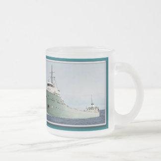St. Marysの挑戦者ガラスのマグ フロストグラスマグカップ