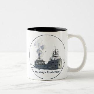 St. Marysの挑戦者 ツートーンマグカップ