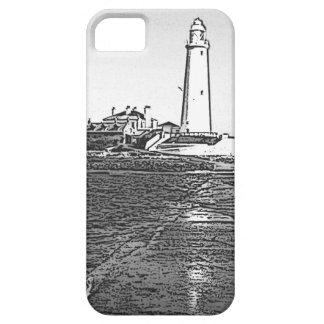 St Marysの灯台 iPhone SE/5/5s ケース