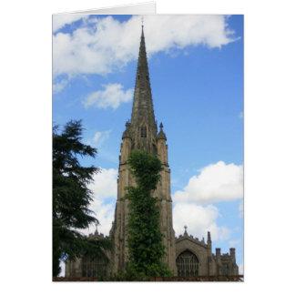 St Marys教会、サフランWalden、Essex、イギリス カード
