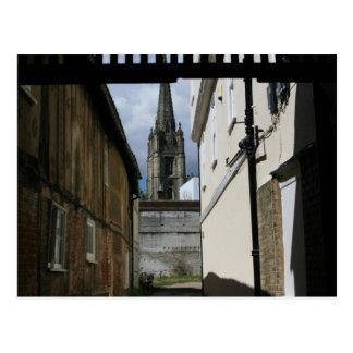 St Marys教会、サフランWalden、Essex、イギリス ポストカード