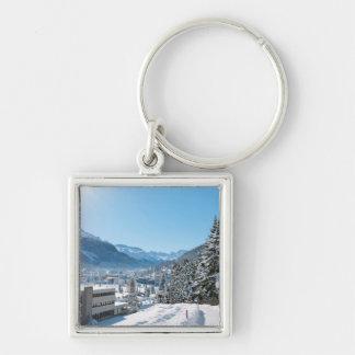 St Moritzの冬 キーホルダー