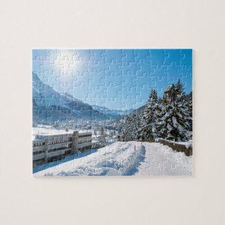 St Moritzの冬 ジグソーパズル