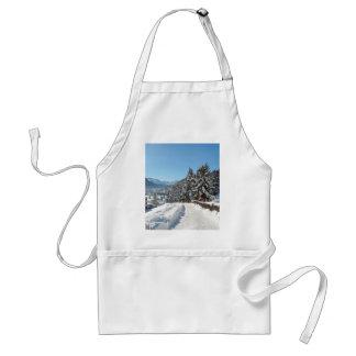 St Moritzの冬 スタンダードエプロン