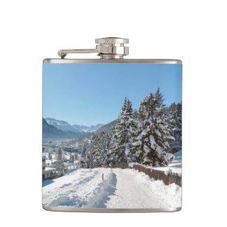 St Moritzの冬 フラスク