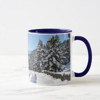 St Moritzの冬 マグカップ
