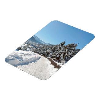 St Moritzの冬 マグネット