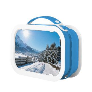 St Moritzの冬 ランチボックス