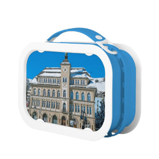 St Moritzの市庁舎 ランチボックス