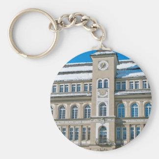 St Moritz、スイス連邦共和国の市庁舎 キーホルダー
