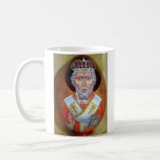 、St. Nikolas Mirlikianの奇跡メーカー大主教 コーヒーマグカップ