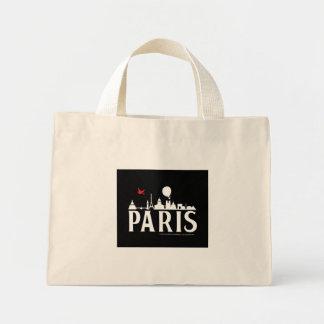 st_paris-skyline-bag ミニトートバッグ