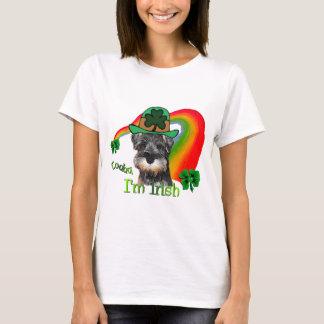 St. Patricks日の小型シュナウツァー Tシャツ