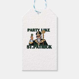 St. Patricks日 ギフトタグ