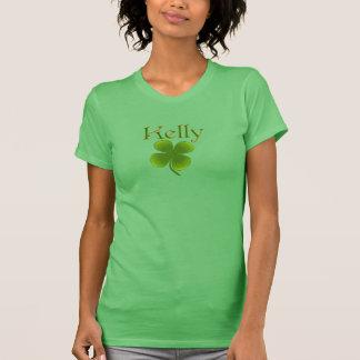 St patricks dayのアイルランド人のケリーのロゴのTシャツ Tシャツ