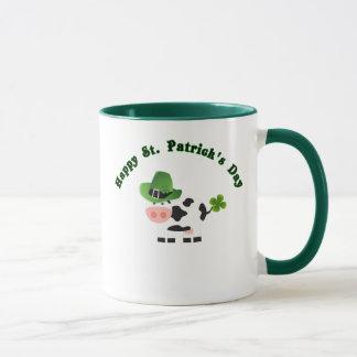 St patricks dayのコーヒー・マグのベビー牛 マグカップ