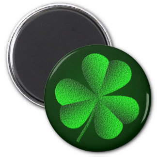 St patricks dayのシャムロックの円形の磁石 マグネット