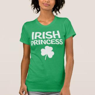 St patricks dayのワイシャツのアイルランド人のプリンセス tシャツ