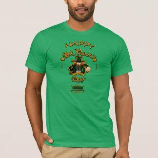 St patricks dayの豊富でカラフルなアイルランドの伝統のティー tシャツ