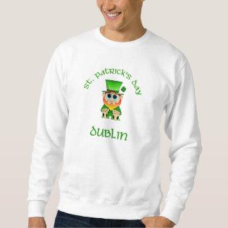 St patricks dayの~ダブリン スウェットシャツ