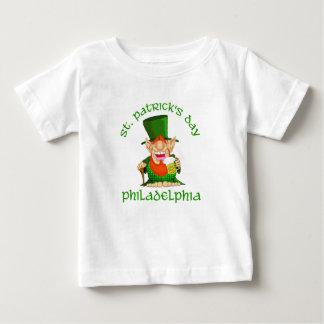 St patricks dayの~フィラデルヒィア ベビーTシャツ