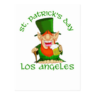 St patricks dayの~ロサンゼルス ポストカード