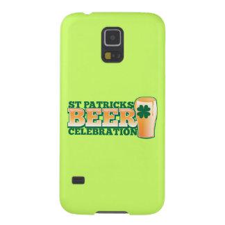 St patricks dayビールお祝い galaxy s5 ケース