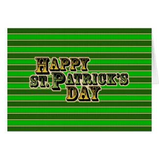St patricks day カード