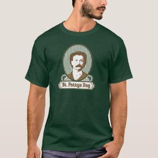 St. Pattys日の暗い人のTシャツ Tシャツ
