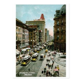 St. Pauls、ニューヨークからのブロードウェイ ポストカード